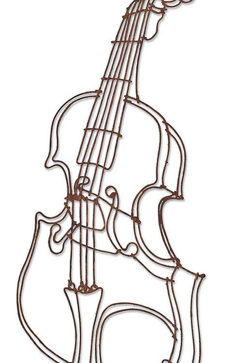 rusted violin