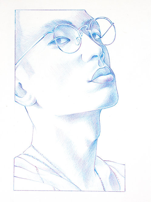 """glasses guy from """"neck"""" series"""