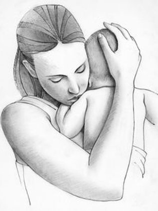 """mother and baby, from book """"Like You and Me"""""""