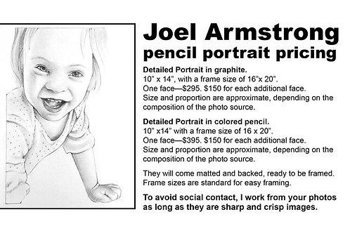 portrait commission pricing