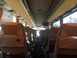 ภายในรถ MB Tourismo