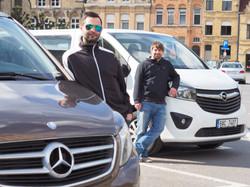 MB V Class - Opel Vivaro
