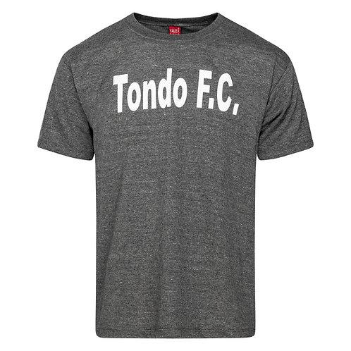 Tondo FC handprinted tee