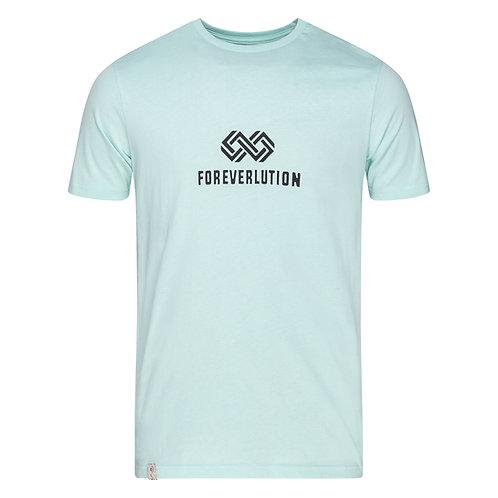 Foreverlution logo tee - Light Blue