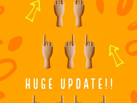 Huge Update Coming!!