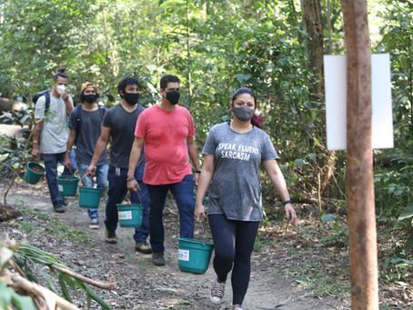 Voluntários ajudam a preservar e tornar a vida melhor, em Niterói