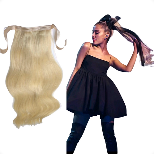 """Human Hair Clip-in Ponytail 24""""inch"""