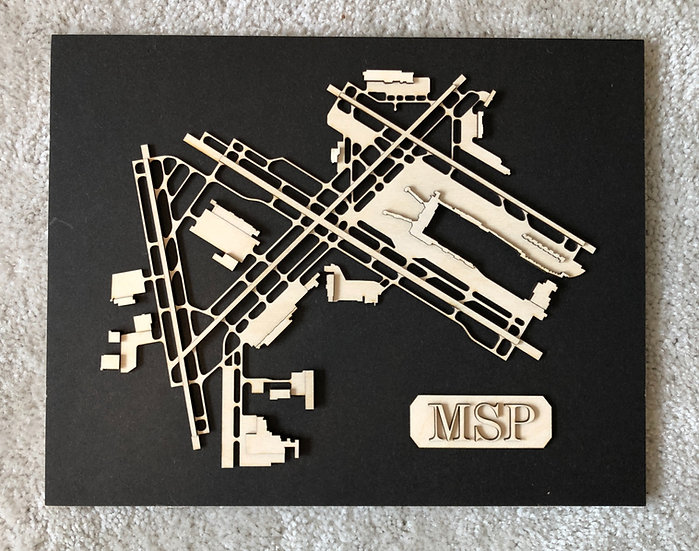 3D Airport Diagram