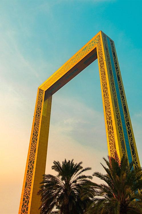 4 hrs | PRICE FOR TWO | Dubai - Behind Glitz & Glamour + Dubai Frame