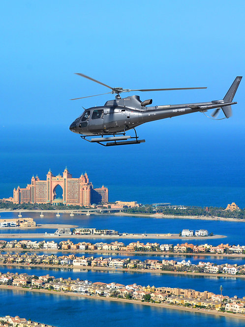 22 min. | PRICE FOR ONE | Helicopter Tour + Transfer