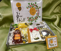 bee well honey themed chocolate gift box