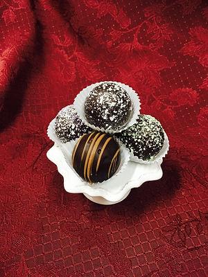 decorative truffles