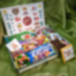 old fashioned candy gift box