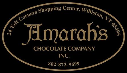 Amarahs Chocolate Company Logo