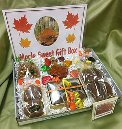 maple themed gift box
