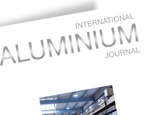 DT Equipment is featured in International ALUMINIUM Journal