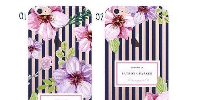 Flower Stripes Navy Edition