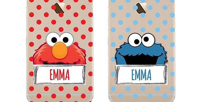 Polka Dots Elmo & Cookie Monster Edition