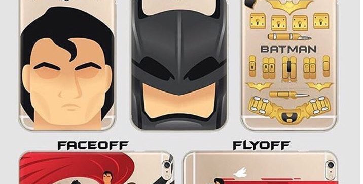 Faceoff Batman Superman Edition