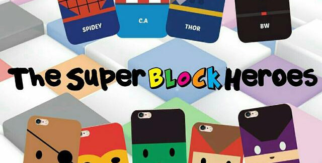 Super Block Heroes Collection