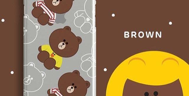 LINE - Tshirt Brown Edition