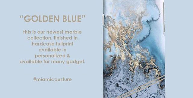 Golden Blue Marble Edition