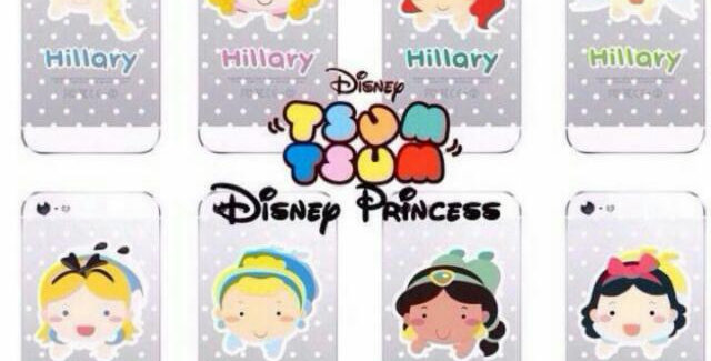 Disney Tsumtsum Princess Series