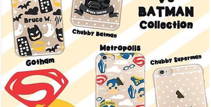 Cute Batman VS Superman Edition