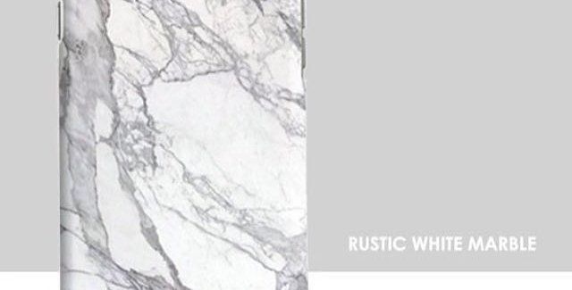 Rustic White Marble Edition