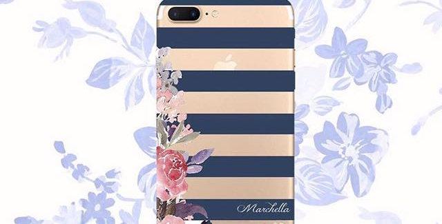 Flower Navy Stripes Edition
