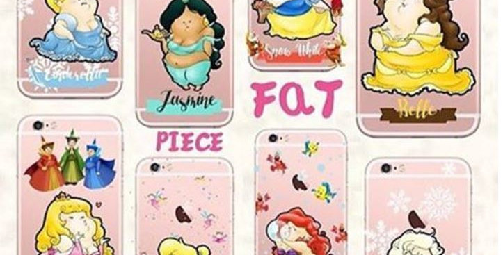 Fat Disney Princess Edition