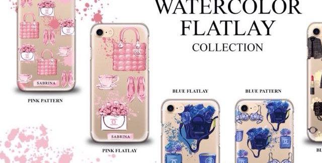 Watercolor Flatlay Edition