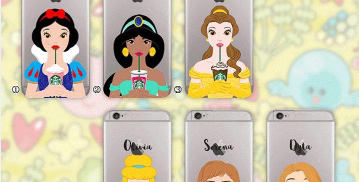 Disney Princess Starbucks Edition