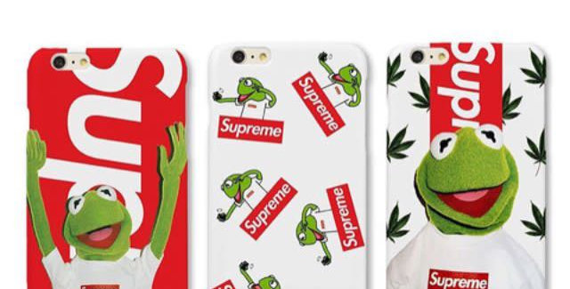 Kermit the Frong x Supreme Edition