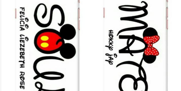 Mickey Minnie Icon Name Edition