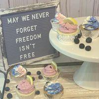cupcakes memorial day