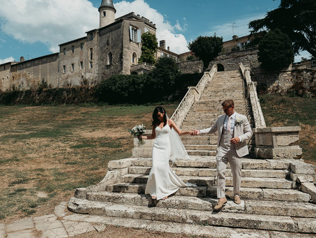 Chic and Rustic Wedding at Chateau Lagorce, Bordeaux | France Wedding Photographer