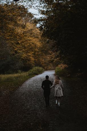 Jasmine and Ben Woodland Engagement Shoo