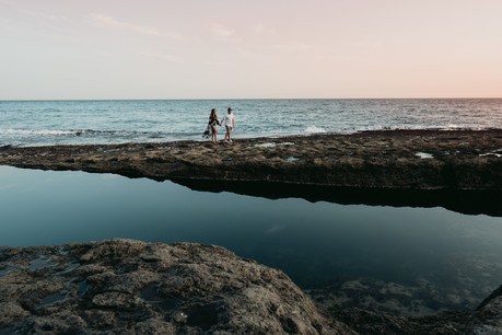 Beach Engagement Shoot Dancers Ledge Dor