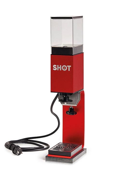SHOT mit Standfuss und Flüssigkeitsbehälter