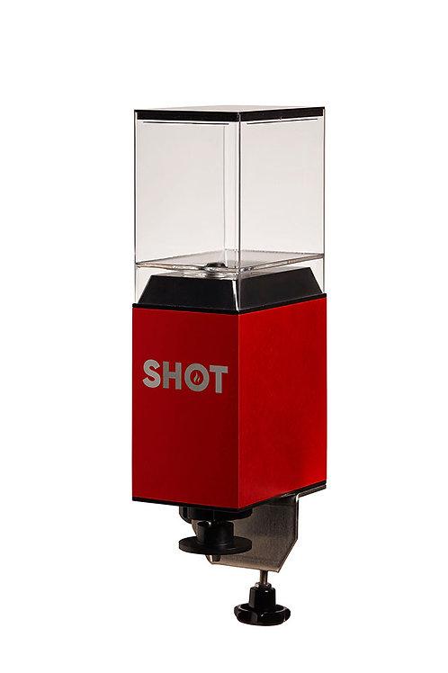 SHOT mit Thekenhalterung und Flüssigkeitsbehälter