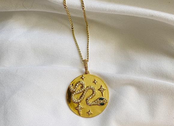 Snake Medallion