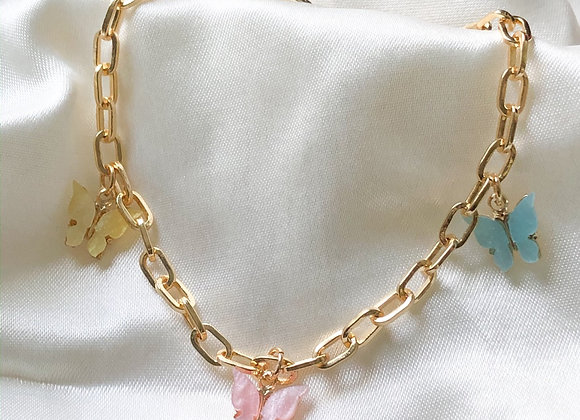 Butterfly Fly Effect Anklet