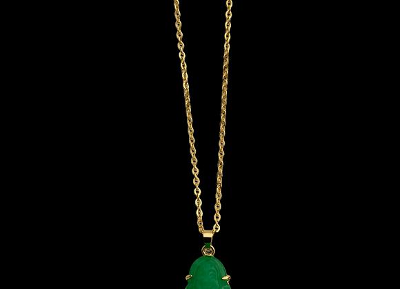 Mini Jade Buddha