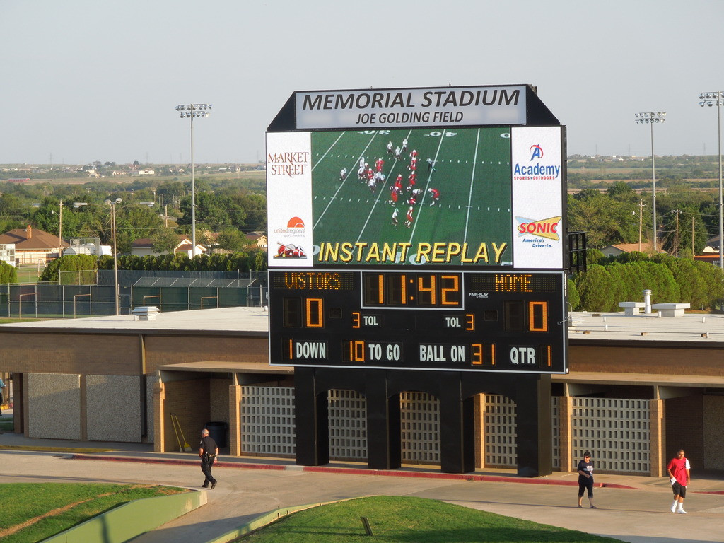 Memorial Stadium - Wichita Falls ISD