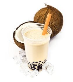 Coconut Boba Bubble Tea
