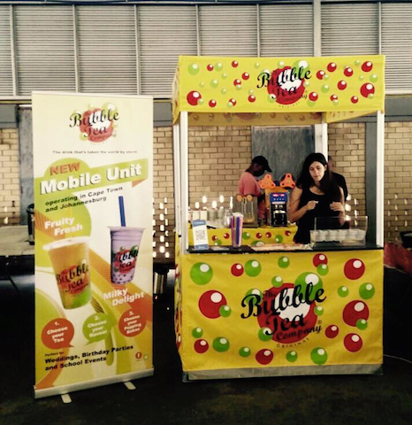 Mobile Ice Tea Bar Johannesburg
