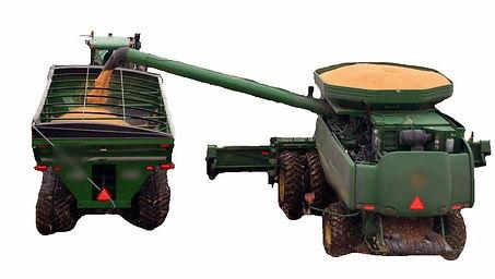 combine unloading into grain cart_edited