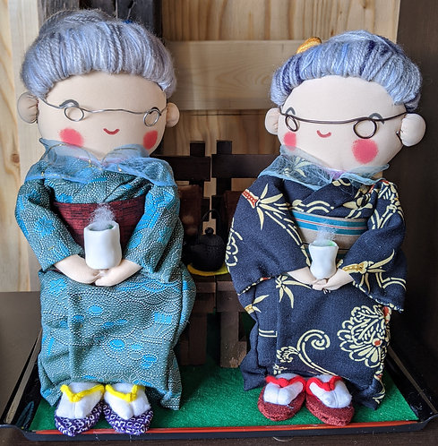 癒しのばあちゃんシリーズ「二人ばあちゃん  」