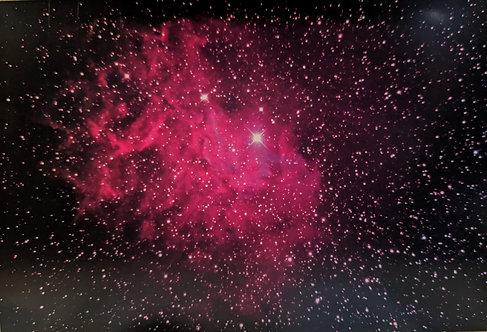 星空ポストカード「まがたま星雲(上部)」1枚